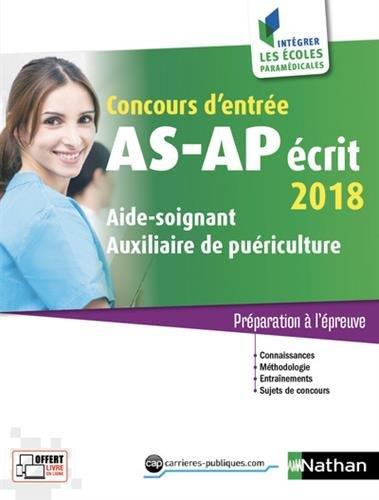 Concours d'entre AS-AP crit 2018