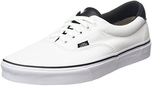 Vans Era 59 - Scarpe da Ginnastica Basse Unisex da Adulto Bianco (C&P true white/black)