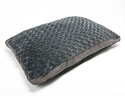 LUXURIOUS Medium/Extra Large Luxury Fur Dog Bed Cushion Washable Zipped Mattress (promotional price)