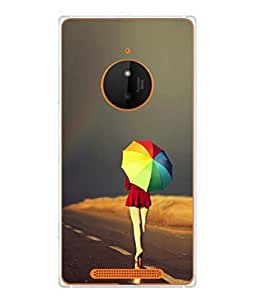 PrintVisa Lonely I So Lonely High Gloss Designer Back Case Cover for Nokia Lumia 830