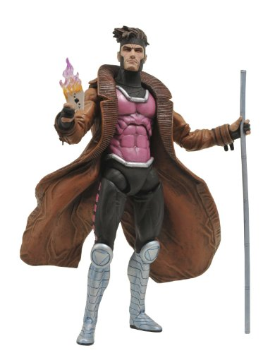 Diamond - Marvel Select, X-Men Gambito, Figura de 18 cm (DIAMV101482)