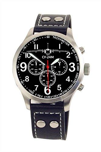 CY-24M Suchoi Aviator Chrono Armbanduhr - Sonderedition - limitierte Auflage