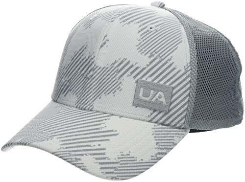 Under Armour Herren Blitzing Trucker 3.0 Kappe, Weiß, OSFA