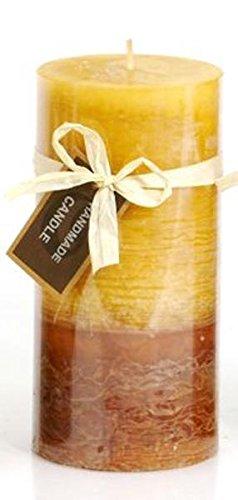 Velas Vela (* miel/marrón * marmoleado H7cm-Pequeño