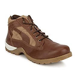Knotty Derby Mens Goyle Ankle Tan Trekking and Hiking Boots - 6 UK/India (40 EU)
