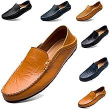Sunny Holiday Classic Scarpe da Uomo Mocassini Slip On Pelle Penny Loafers  Casual Eleganti Scarpe da 9f5f0b1ebb1