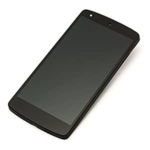 Screenshop Reparatur-Box LG Google Nexus 5 D820 D821 LCD Display schwarz inkl. Touchscreen u. Rahmen u. Screenshop Profi Werkzeug