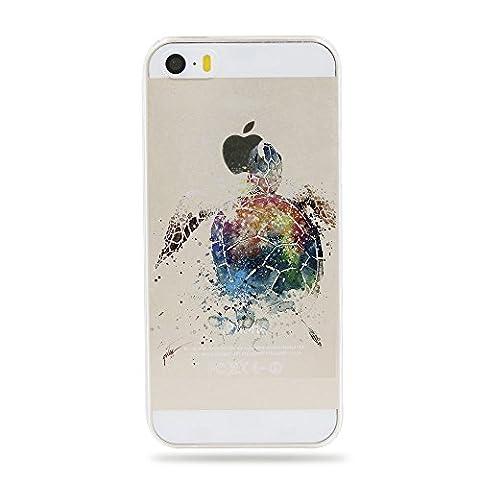 Qissy® Schutzhülle für iPhone SE /5 / 5S Hülle Case
