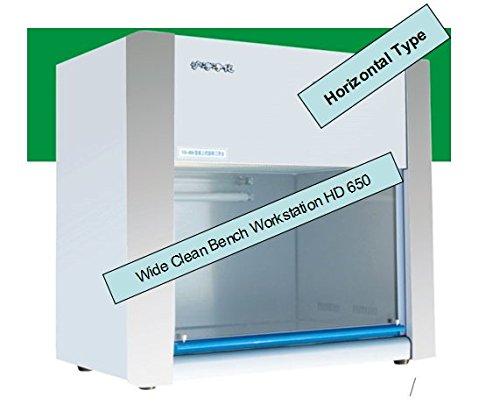 Ecken sind Flow Kapuze Air Flow 2?FT breit reinigen Bench Workstation VD/HD 650 - Horizontal (Kapuze Instrument)