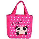 EZ Life Kids Thermal Lunch Bag Fun Size - Perky Panda - Pink - Nylon