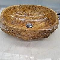 CANU LAVABOS DE Piedra RÚSTICOS. Se elaboran en el mármol del Color Que prefiera: