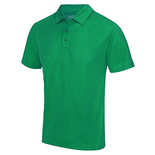 Just Cool - Herren Funktions Poloshirt 'Cool Polo' Kelly Green