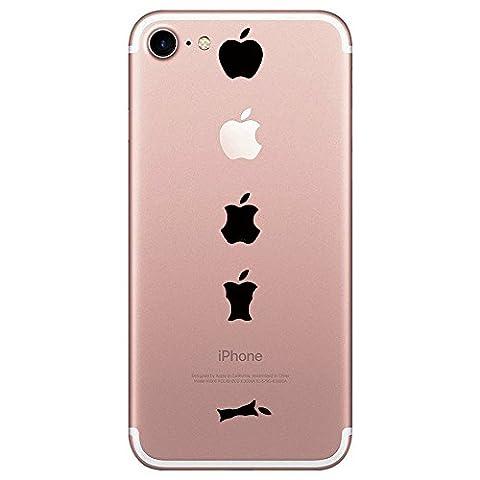 iPhone 7 Hülle, TPU Silikon Schutz Handy Hülle Handytasche HandyHülle Etui Schale Panda Penguins Case Cover Tasche Etui für Apple iPhone 7 Plus (iPhone 7, 1)