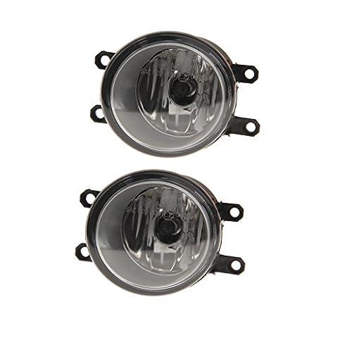 Gazechimp Feux De Brouillard Lampes à Lumière Côtés Passagers Pilote Ampoules H11 Pour Toyota Auto Voiture