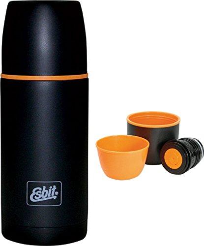 Esbit Isolierflasche, Edelstahl, schwarz, 0,75L