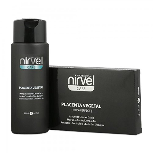 Pack Control caduta estratti 10Fiale + Shampoo 250ml. nirvel