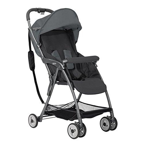 Graco Featherweight-Kinderwagen, schwarz/grau
