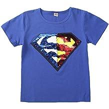 750123713 Lee little Angel 2018 Lentejuelas Infantiles de Ropa Infantil cambiarán el  patrón de Las Camisetas de