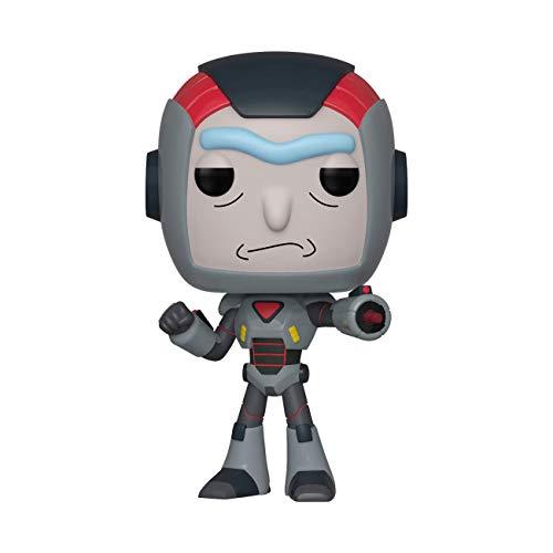 Funko- Pop Figura de Vinilo: Animación: Rick & Morty S6-Rick in Mech Suit Coleccionable, (40248)