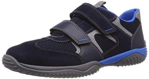 Superfit Jungen Storm Sneaker, (Blau 80), 36 EU