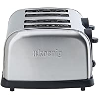 H.Koenig TOS14 Grille Pain 4 Tranches 1500 W