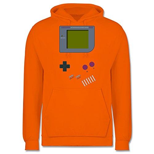 Shirtracer Nerds & Geeks - Gameboy - M - Orange - JH001 - Herren Hoodie