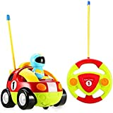 Holy Stone® RC Cartoon Race Car With Action Figure,Radio Control Toy With Music For Toddlers