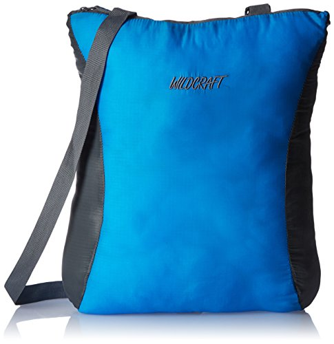 Wildcraft Pac n Go Nylon 11 Ltrs Blue and Grey Packable Kids Bag (5-8 years age)  available at amazon for Rs.535