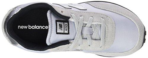 New Balance Jungen, Funktionsschuh, Kl410 Kids Lifestyle Cordón Weiß (White)