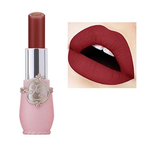 Huihong Doppelt Farbe Lippenstift Lippe Dessous Matte FlüSsigkeit Wasserdicht Make-Up Lipgloss (A1)