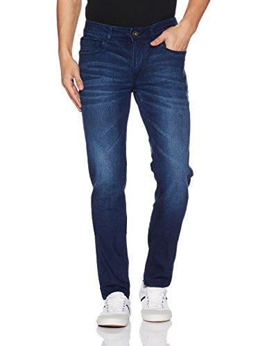 Diverse Men's Relaxed Fit Jeans (DVD01D2L01-1i_Indigo Blue_32W x 32L)