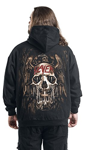 Slayer Church Morph Kapuzenpulli schwarz Schwarz