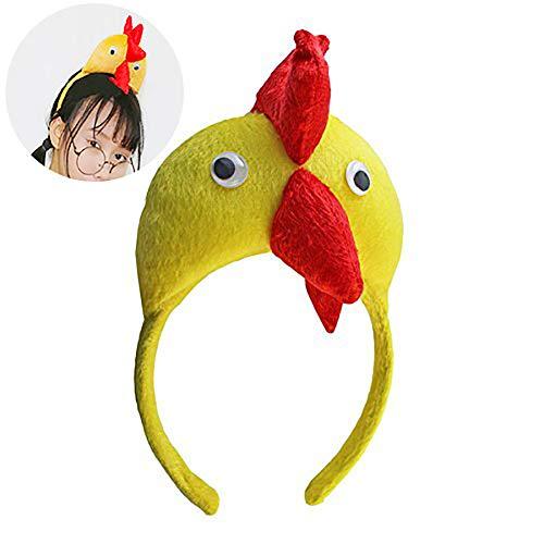 Beito 3D Huhn Cock Kopf Band Pet Shop Erwachsenen Kind Kostüm Party Kostüm