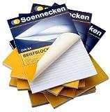 SOE Briefblock 2313 A5 hf rautiert 50Bl 70g