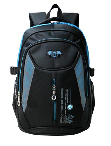Mochila niños mochila para chicos Mochila escolares niño mochilas escolares bolsos de escuela para niños (2-Azul)