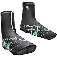 Sharplace 2X Cubierta de Zapatos Cinta Reflectante Cómodo Accesorio Impermeable Ciclismo - Verde