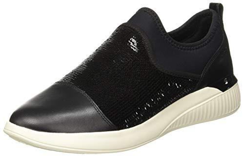Geox D Theragon a, Zapatillas Mujer, Black C9999