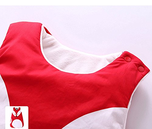 Himom Karikatur Neugeborenes Pucktücher Schlafsack sleeping bag Sack wickeln Baumwolle für 0-3Jahre (0-1 Jahr, Panda)