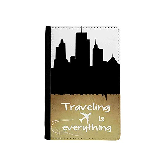 Australia Skyscrapers and Sydney Opera Traveling quato Passport Holder Travel Wallet Cover Case Card Purse