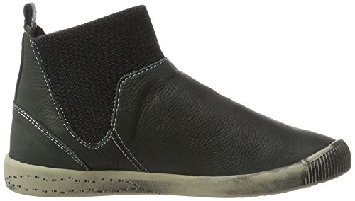 Softinos - Imi412sof Smooth, Stivali chukka Donna nero (nero)