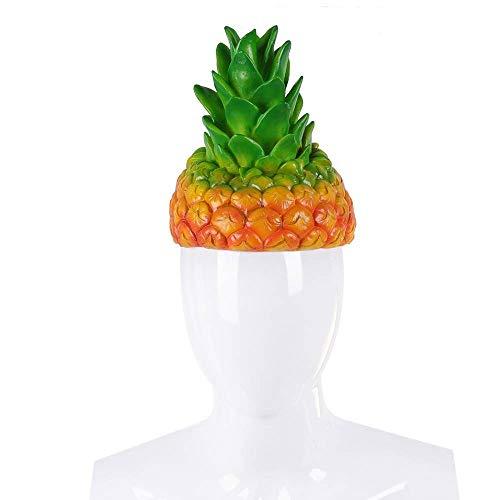 Halloween Obst Kostüm - FDBQC Cosplay Erwachsene Halloween Party Phantasie Ananas Cosplay Cartoon Lustige Obst Kostüm Hüte
