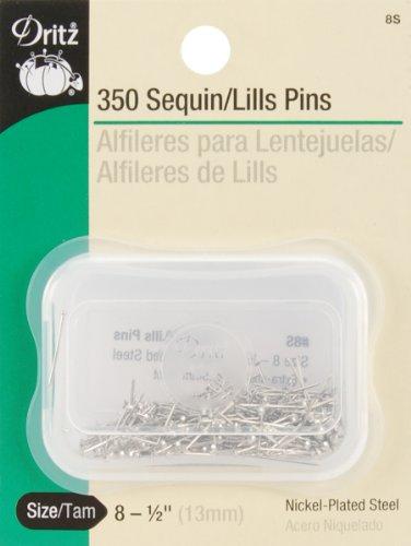 Bulk Buy: Dritz Pailletten Pins Größe 8350/Pkg 8S (6er Pack)