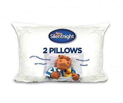 Silentnight Hollowfibre Pillow, Pack of 2 - inexpensive UK bedding store.