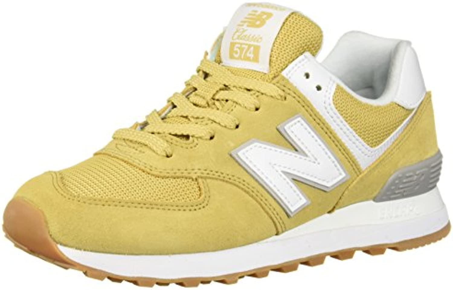 New Balance574v2-574v2 Donna, Donna, Donna, Bianco (Moonbeam Overcast), 44 EU | Outlet