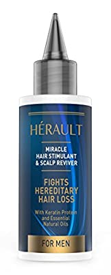 Hair Stimulant and Scalp Reviver Hair Loss Treatment for Men With Keratin - Second Glance Beauty from Second Glance Beauty