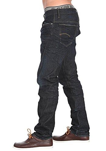 G-STAR Herren 3301 Straight Jeans 3D raw