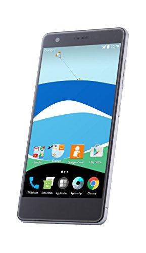 ZTE V770 - Smartphone de 5.2' (Memoria Interna de 16 GB, 2 GB de RAM, cámara de 13 MP, Android) Gris