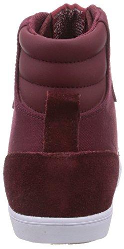 hummel SL STADIL CANVAS HI Unisex-Erwachsene Hohe Sneakers Rot (Cabernet 3661)