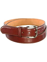 Ossi Mens Casual Leather Belt Trouser Waist Buckle Q5026