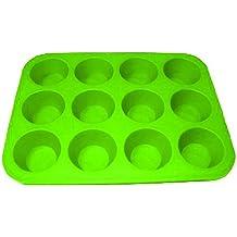 AEX-Silikon Donut Donut Backblech Backform Form Antihaft-Gefrierschrank Ofen Ice grün